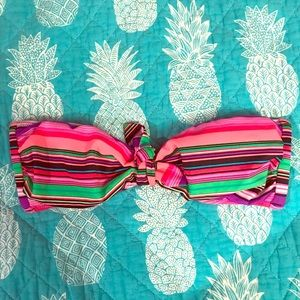 VS bandeau swim top